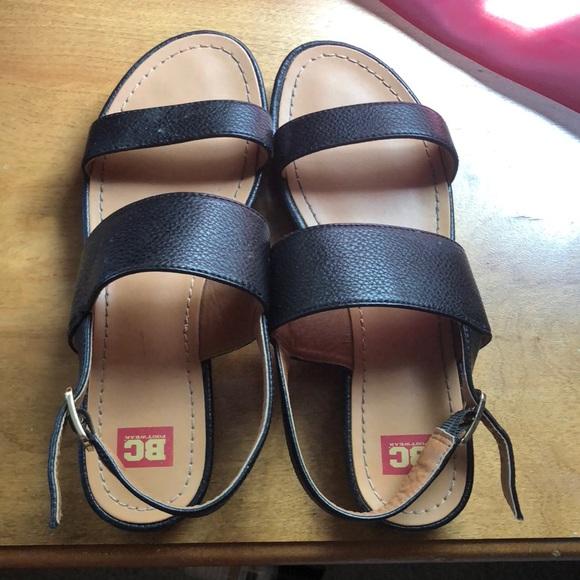 e0adb03f1d05 Black platform sandals. M 5b61f1aa9539f7d027a8befb